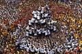 Two dead, 197 injured in Dahi Handi related incidents