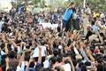 DCP turns crisis manager, talks to angry protesters