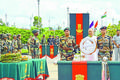 Homage paid to slain AR personnel Army promises to hit back hard at militants
