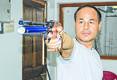 Prem and Sylvia set new pistol shooting records