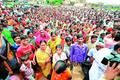 Tribals join capital land stir