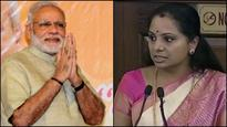 PM Narendra Modi wishes Telangana's first woman MP K. Kavitha on her birthday