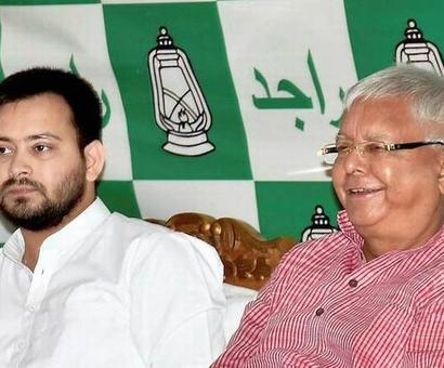 CBI summons Lalu, son Tejashwi on Sept 25, 26