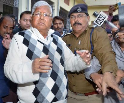 CBI files chargesheet against Lalu, Rabri, Tejashwi in IRCTC case