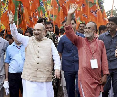Amit Shah launches 'padyatra' against CPI-M 'violence' in Kerala