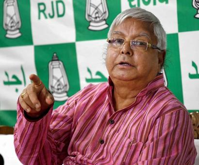 RSS-BJP want to kill Rahul Gandhi, says Lalu