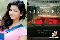 Rakul Preet joins Sidharth for 'Aiyaary' in London