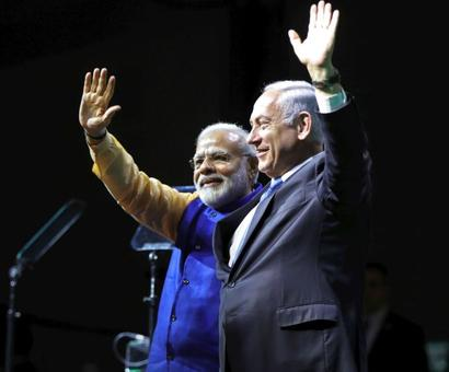 India to lay out red carpet for Netanyahu
