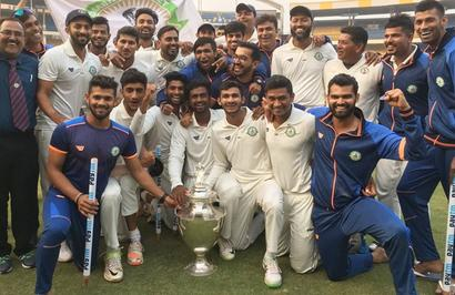 Historic! Vidarbha begin 2018 as Ranji champs