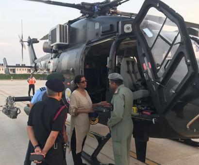 Sitharaman makes aerial survey of Doklam-Nathula area