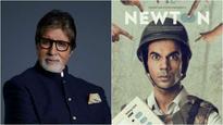 Amitabh Bachchan watched Rajkummar Rao's 'Newton' and here's what he has to say