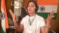 Hina Khan aka Akshara from 'Yeh Rishta Kya Kehlata Hai' croons Vande Mataram, video goes viral on social media