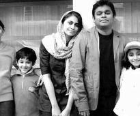 Rahman's son floors father with love