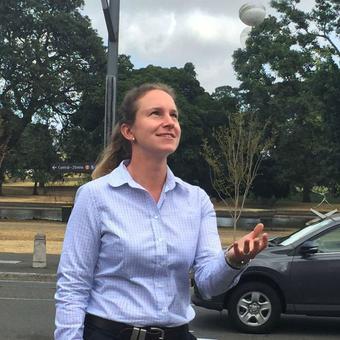 Meet the first woman to umpire a top-level men's cricket match