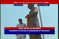 Live: Rahul ends Varanasi rally with tribute to Pt Madan Mohan Malviya