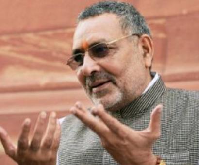 Giriraj regrets statement, matter closed: BJP moves on