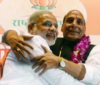Rajnath allocates work to BJP leaders, does the balancing act