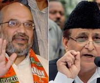 Election Commission censures Amit Shah, Azam Khan for remarks