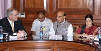Rajnath Singh meets Australian delegation to discuss illegal migration issue