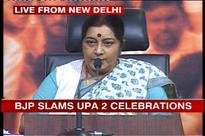 BJP calls UPA II a complete failure, asks why is it celebrating