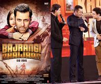 Salman Khan wishes to show BAJRANGI BHAIJAAN to 'buddy brothers' Shah Rukh and Aamir - News