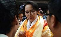 Myanmar's Opposition Leader Aung San Suu Kyi Ducks Myanmar Army Parade on Health Grounds