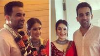 Check out | Sagarika Ghatge ties the knot with long time beau Zaheer Khan