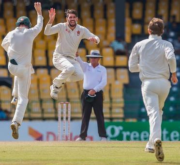 Zimbabwe sniff victory aginst Sri Lanka