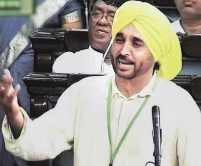 Lok Sabha panel meet to decide on action against Bhagwant Mann ends