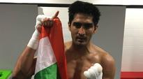 Hoping to carry momentum into fight in India: Vijender Singh