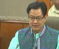 Home Ministry to Send Advisories to States on Racially Motivated Incidents: Kiren Rijiju