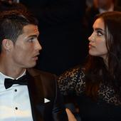 With tears in his eyes, Irina Shayk and son Cristiano Jr by his side Cristiano Ronaldo crowned Ballon d'Or winner