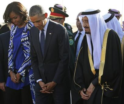 FLOTUS forgoes headscarf in Saudi Arabia, sparks outrage
