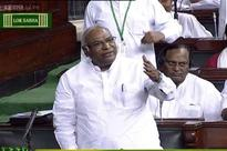 Is PM Modi god to give occasional darshan in Parliament: Kharge to Swaraj