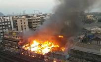 Huge Fire Breaks Out At South Mumbai Slum, 2 Children Injured