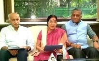 Sushma Swaraj Slams Pak PM, Says 'All Of Kashmir Is India's'