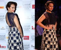 The secret behind Sonakshi Sinha's slim silhouette seen at the LFW