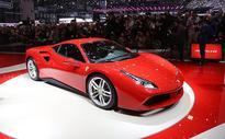Ferrari 488 GTB officially unveiled at the Geneva Motor Show
