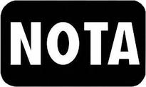 NOTA makes its debut, but doesnt leave mark