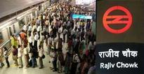 Escalator snag at Delhi's Rajiv Chowk Metro station injures four
