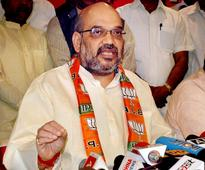 UP govt will fall on its own after BJP win: Amit Shah