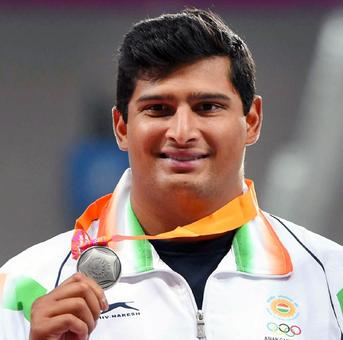 Asian Games: Gowda wins discus throw silver