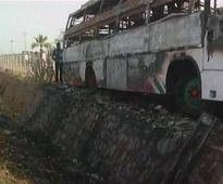 6 killed, 12 injured as bus catches fire in Karnataka
