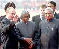 Russian President Vladmir Putin condoles Dr Kalam's passing