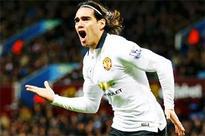 Man United's Falcao on target but gets no guarantees