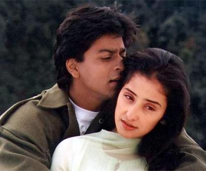 PIX: Shah Rukh Khan loves his 'Dil'!