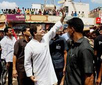 In photos: Rahul Gandhi visits Gujarat