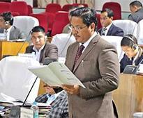 Meghalaya CM tables deficit Budget