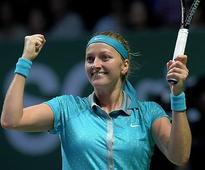 WTA Finals: Petra Kvitova beats Maria Sharapova 6-3, 6-2