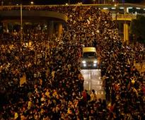 Hong Kong protesters plan march as talks with govt fail